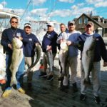 Striped bass with Churck Scott's crew